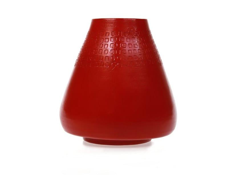 Ceramic vase SURFACE IV - Kiasmo
