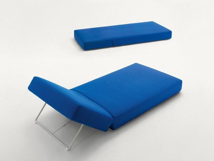 Recliner fabric garden daybed SWELL - Paola Lenti