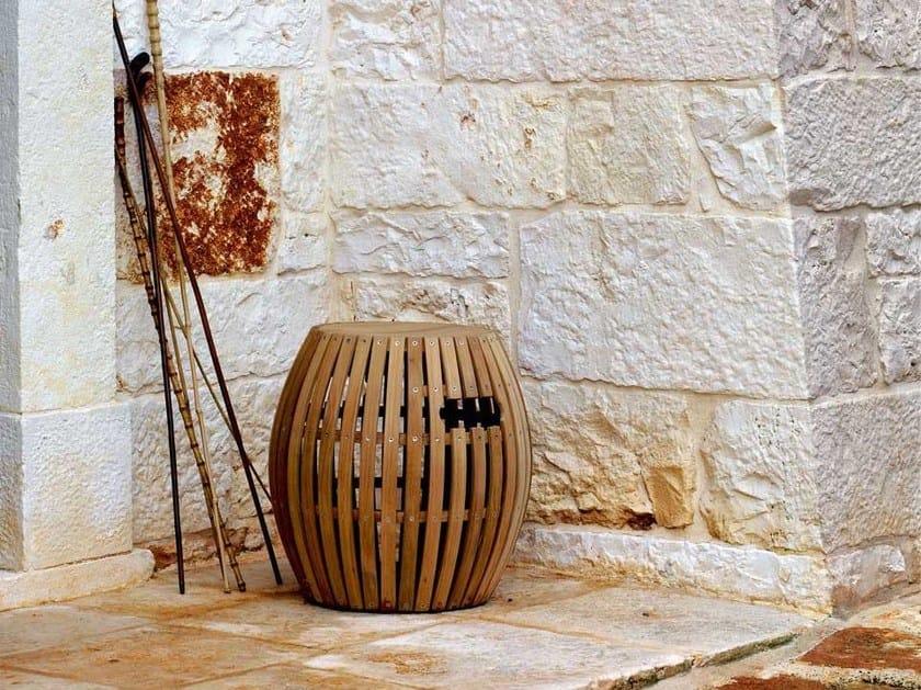 Teak garden stool SWING | Garden stool by Unopiù