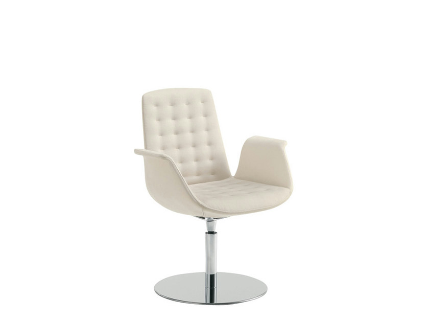 Swivel reception chair MODÀ STYLE | Swivel chair - Sesta