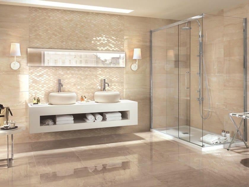 rivestimento in gres porcellanato effetto marmo symphony rivestimento ragno. Black Bedroom Furniture Sets. Home Design Ideas