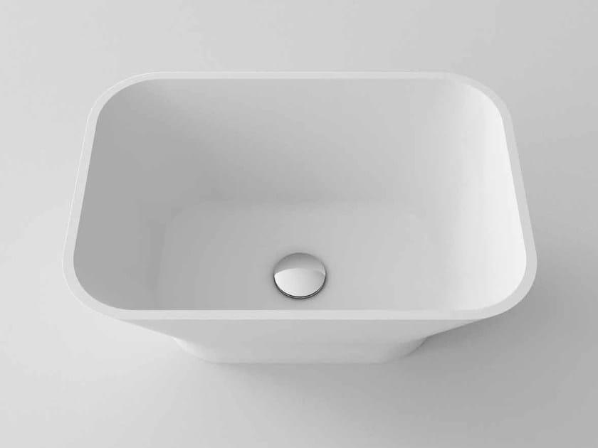 Countertop rectangular washbasin SYRIO by Flora Style