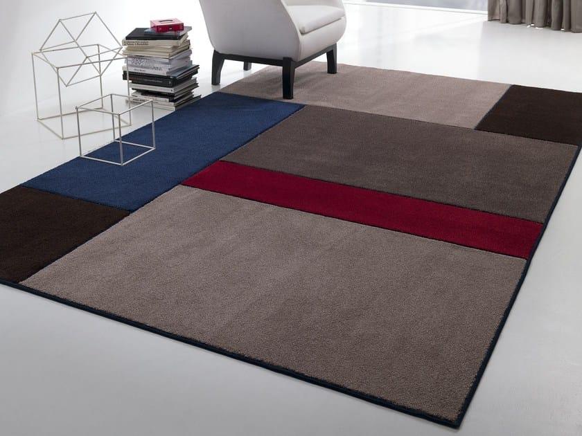 Handmade fabric rug NEW FEELINGS T1402S - Besana Moquette