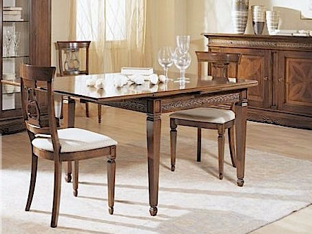 Extending square table CARAVAGGIO | Table - Arvestyle