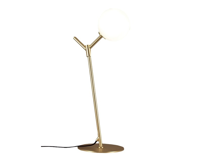 Metal table lamp with fixed arm ATOM | Table lamp - Aromas del Campo