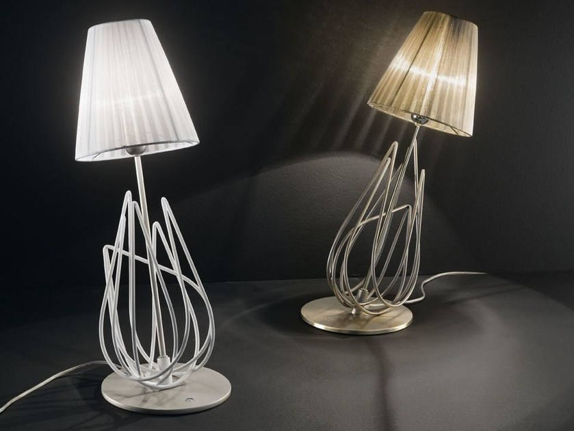 Organza table lamp FLAME | Table lamp - IDL EXPORT