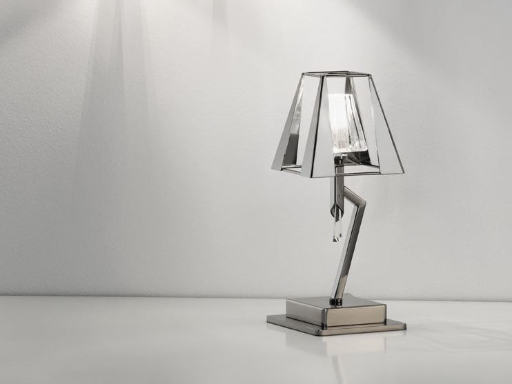 Direct light metal table lamp PRESTIGE | Table lamp - IDL EXPORT