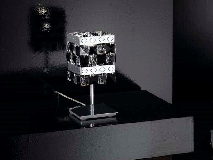 Crystal table lamp PRINCE | Table lamp - IDL EXPORT
