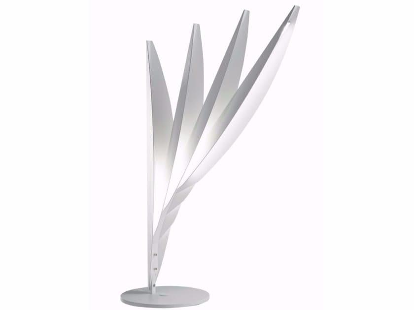 Lampada da tavolo a LED in metallo FLOU | Lampada da tavolo by ROCHE BOBOIS