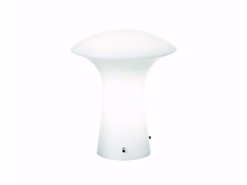 Lampada da tavolo in vetro soffiato GLENN | Lampada da tavolo - ROSSINI ILLUMINAZIONE