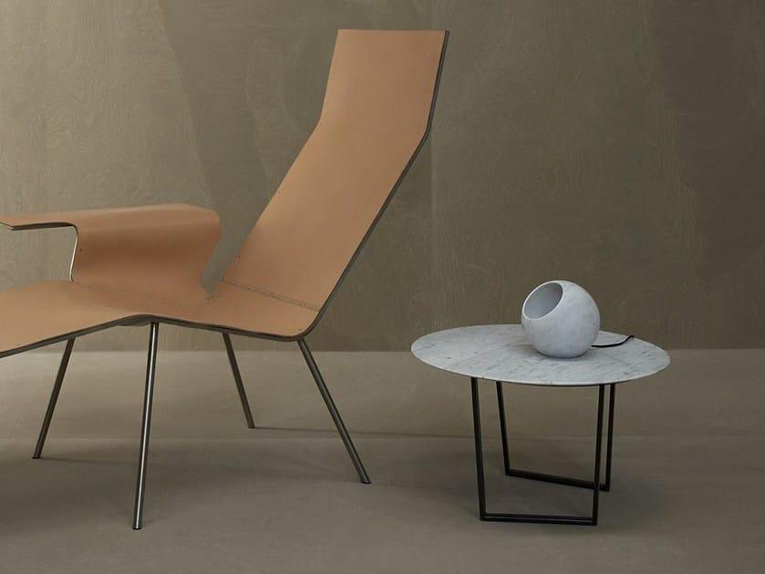 Carrara marble table lamp URANO | Table lamp by SALVATORI