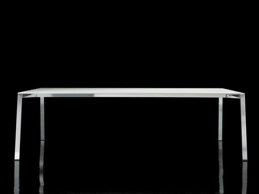 Rectangular HPL table TABLE_ONE - Magis