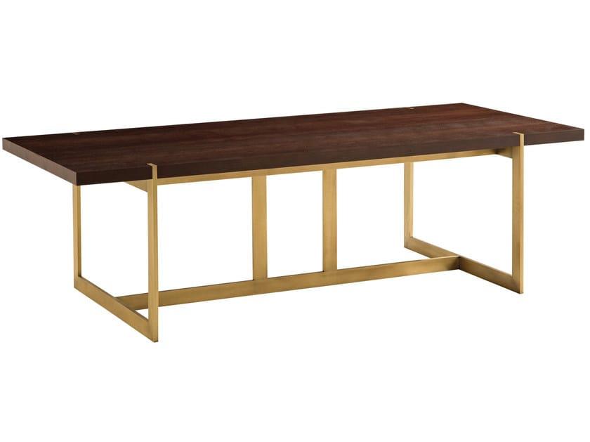 Trocadero table trocadero collection by roche bobois design les h ritiers - Table verre roche bobois ...