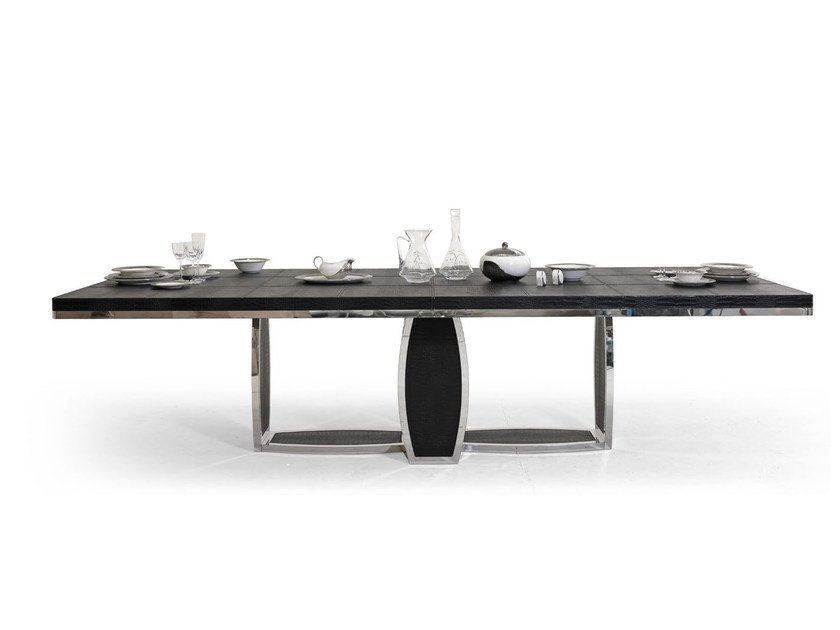 Rectangular leather living room table TL SAINT TROPEZ | Table - Tonino Lamborghini Casa