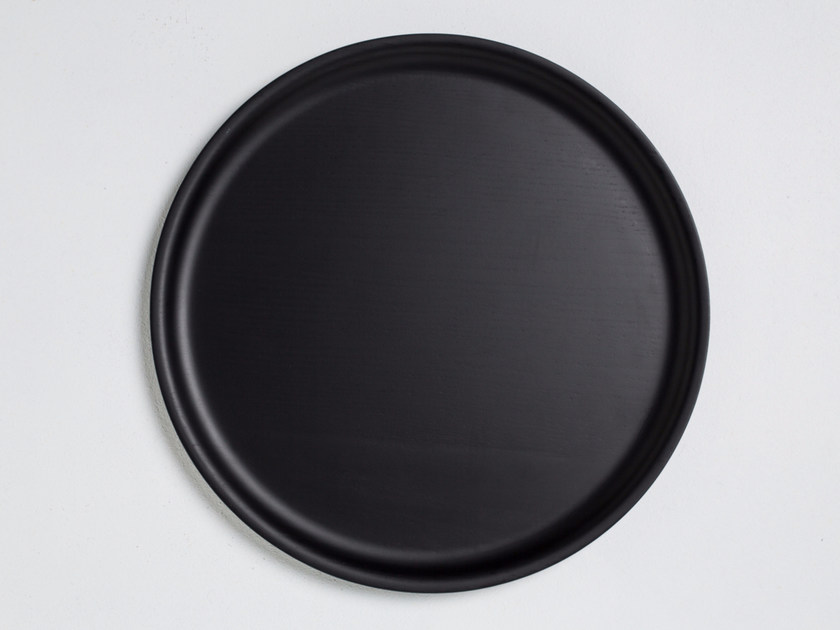 Round tray TABLETT - conmoto by Lions at Work