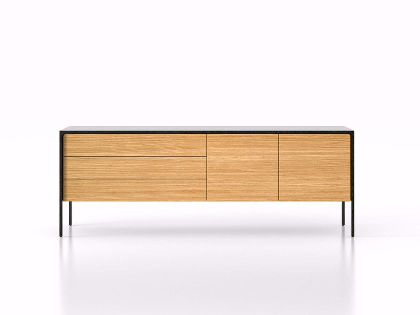 Wooden sideboard with drawers TAC216 | Sideboard with drawers - Punt
