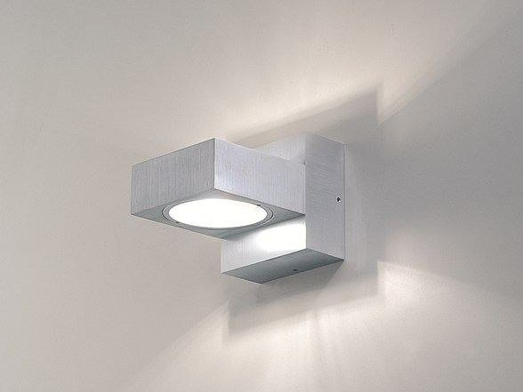 Halogen aluminium wall light TAF 2 - BEL-LIGHTING
