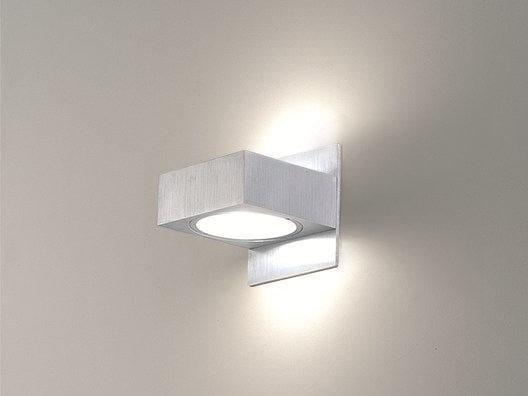 Halogen aluminium wall light TAF 2 IN - BEL-LIGHTING