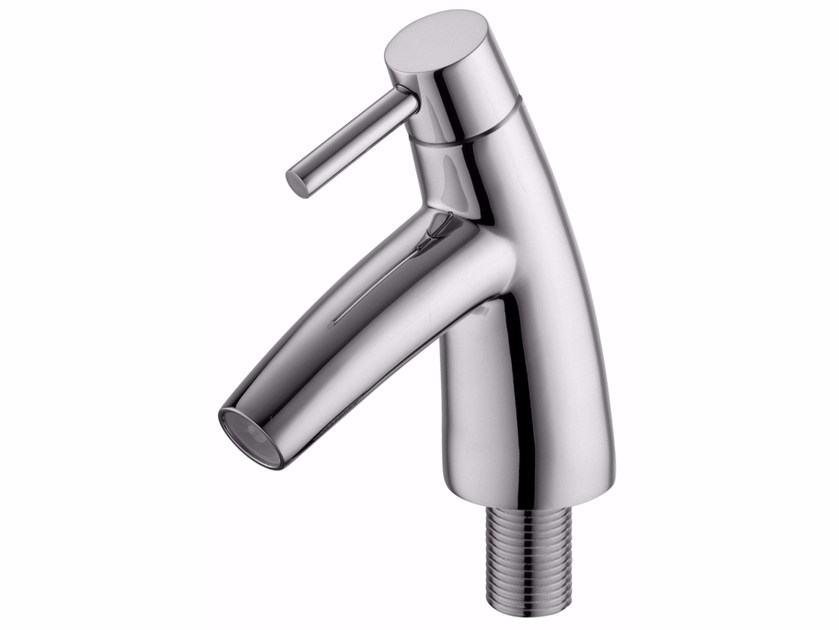 Countertop single handle 1 hole chromed brass washbasin mixer TAI CHI | Chromed brass washbasin mixer by JUSTIME
