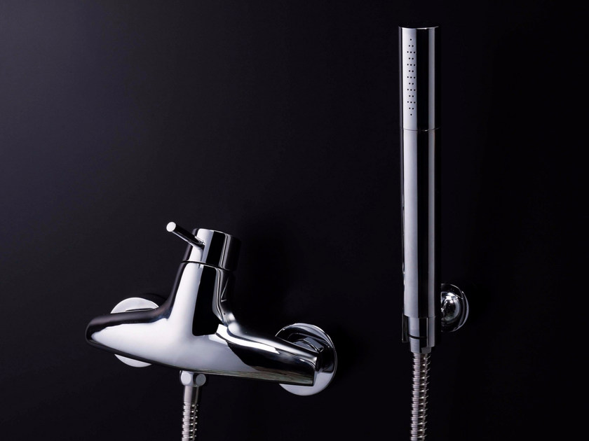 Single handle shower mixer with hand shower TAI CHI | Shower mixer - JUSTIME