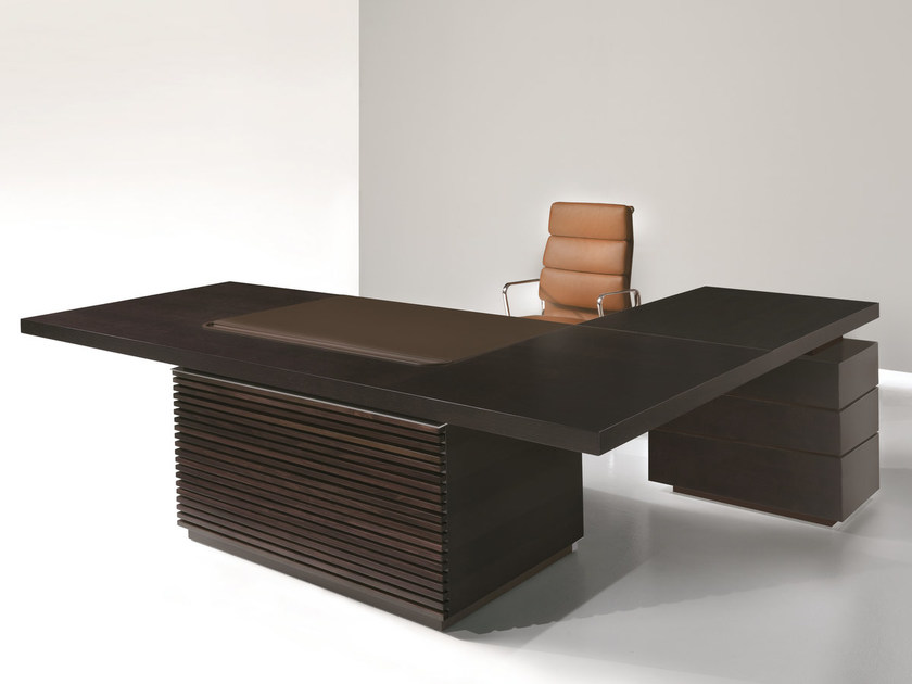 L-shaped executive desk with drawers TAIKO | L-shaped office desk by ARTOM by Ultom
