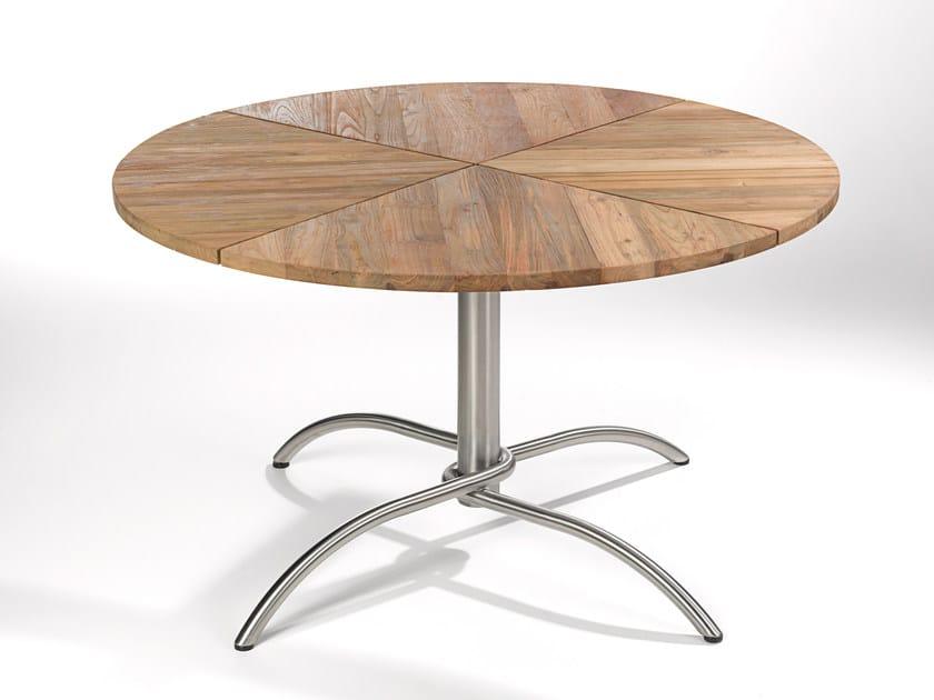 Round teak garden table TAKU TEAK | Round table - FISCHER MÖBEL