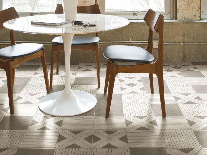 Pavimento in gres porcellanato smaltato TANGLE WARM | Pavimento - ORNAMENTA