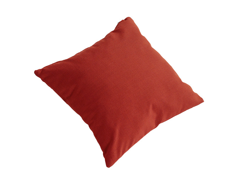 Solid-color square fabric cushion TANGRAM IS5 T550 by Interstuhl