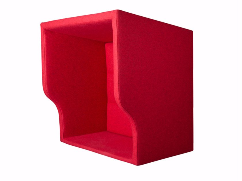 Acoustic fabric phone booth TANK PHONEBOOTH - Palau