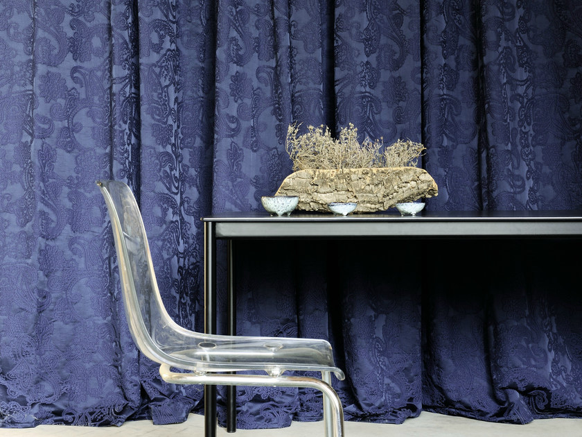 Jacquard fabric for curtains TAOS by Élitis