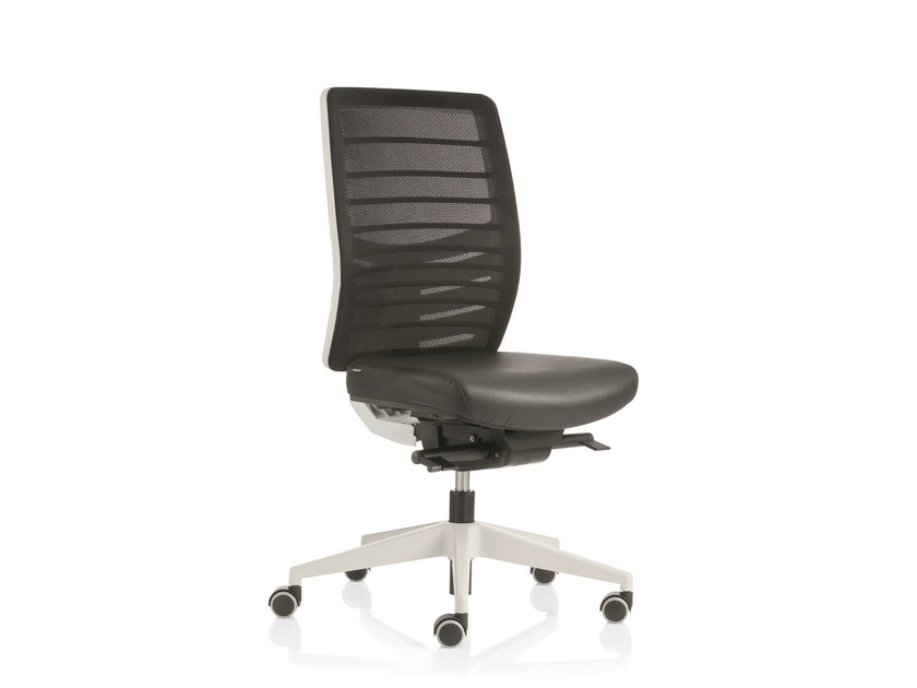 Swivel task chair with 5-Spoke base with casters EM49 | Task chair - Emmegi