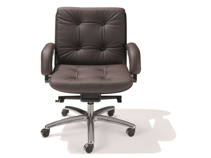 Swivel leather task chair NESI | Task chair by ARTOM by Ultom