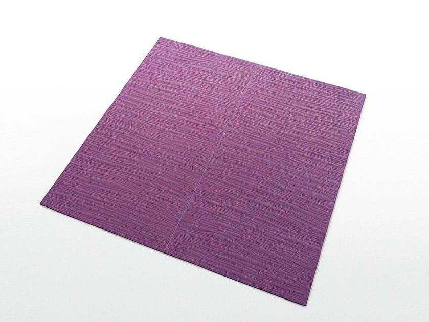 Solid-color felt rug TATAMI - Paola Lenti