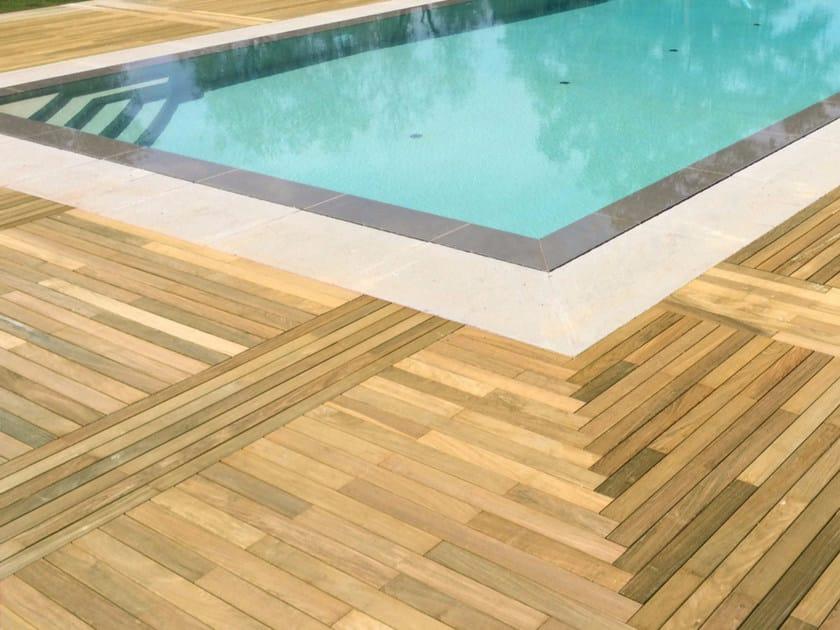 Wooden decking Teak decking - ALCE