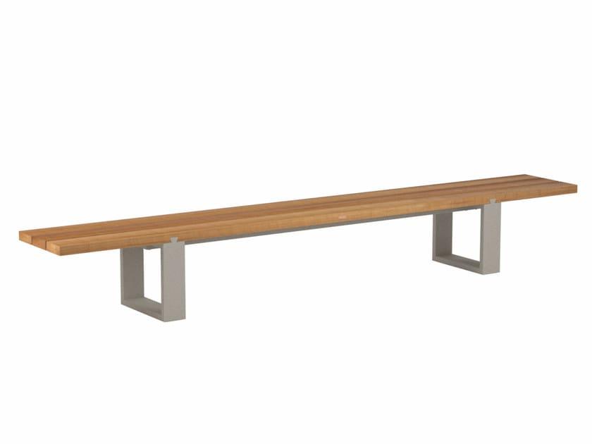 Teak garden bench VIGOR | Teak garden bench - ROYAL BOTANIA