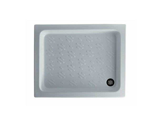 Anti-slip rectangular shower tray TEBE - GALASSIA
