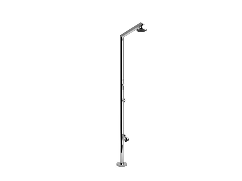 Stainless steel outdoor shower TECNO ML - Inoxstyle