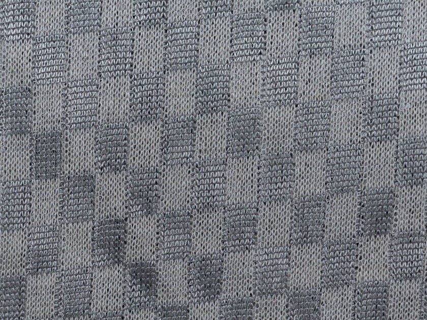 Solid-color Trevira® CS upholstery fabric TEIDE MINERAL by Gancedo
