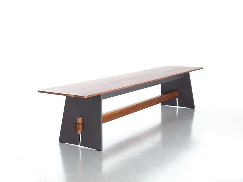 HPL garden bench TENSION | Bench by conmoto