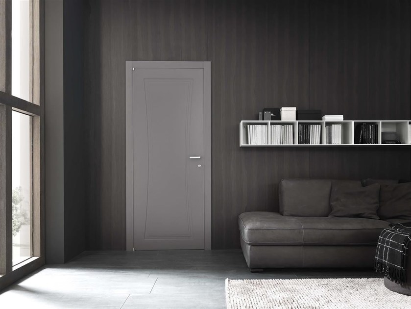 Hinged lacquered door TENTEN by Door 2000