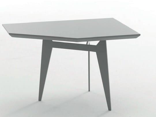 Low powder coated steel coffee table TEOREMA - Bolzan Letti