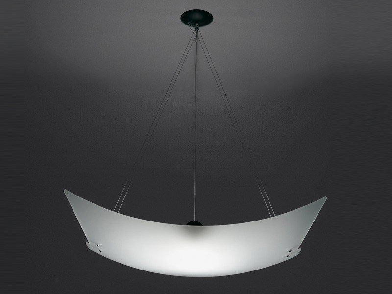 Glass pendant lamp TEOREMA | Pendant lamp - Fabbian