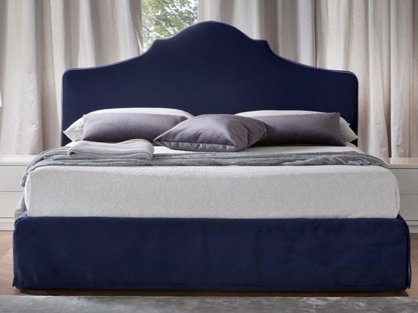 Velvet bed with removable cover TEREO by Chaarme
