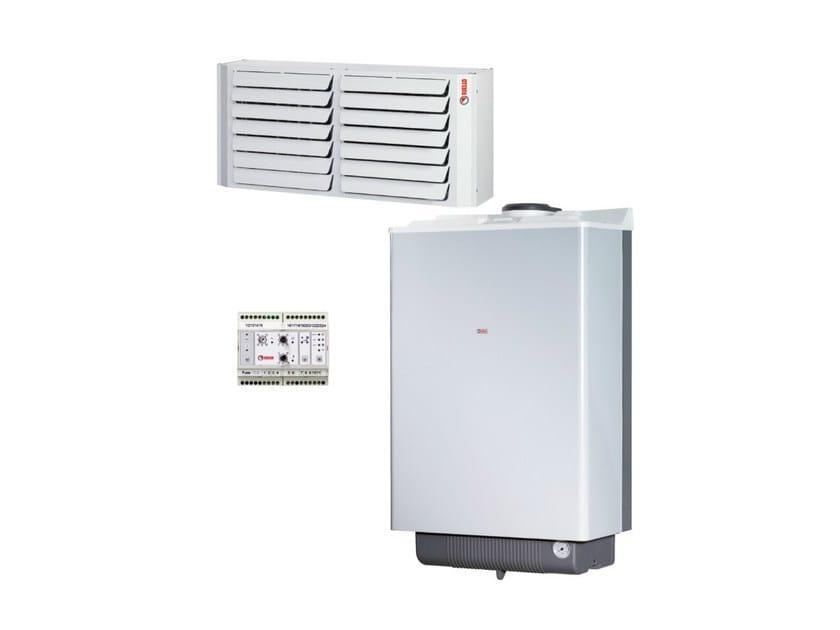 Air heater TERMODUETTO CONDENS - RIELLO