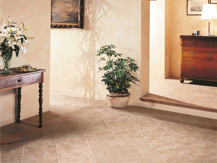 Pavimento in ceramica effetto cotto TERRE D'UMBRIA - Casalgrande Padana