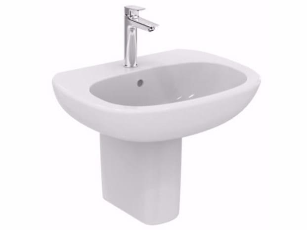 Lavabo in ceramica tesi t3512 ideal standard - Lavabo bagno ideal standard ...