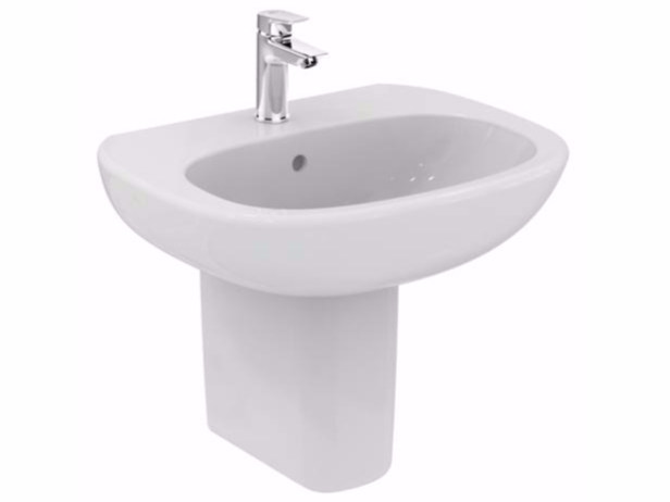 Ceramic washbasin TESI - T3514 - Ideal Standard Italia