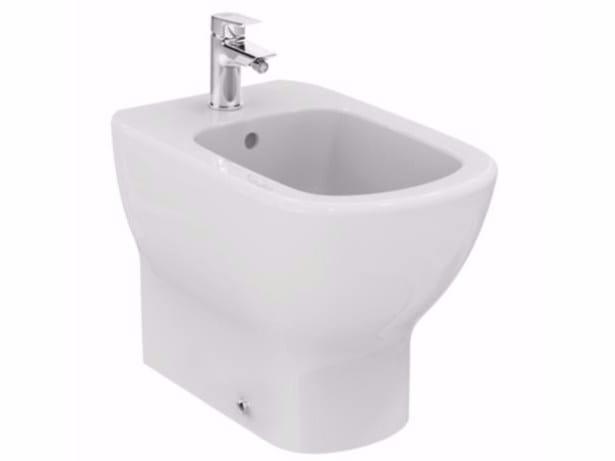 Bidet in ceramica tesi t3540 ideal standard for Bidet ideal standard