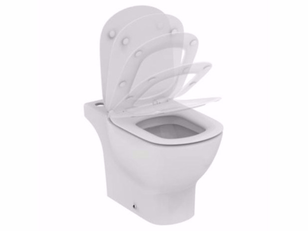 Ceramic toilet TESI - T3563 - Ideal Standard Italia