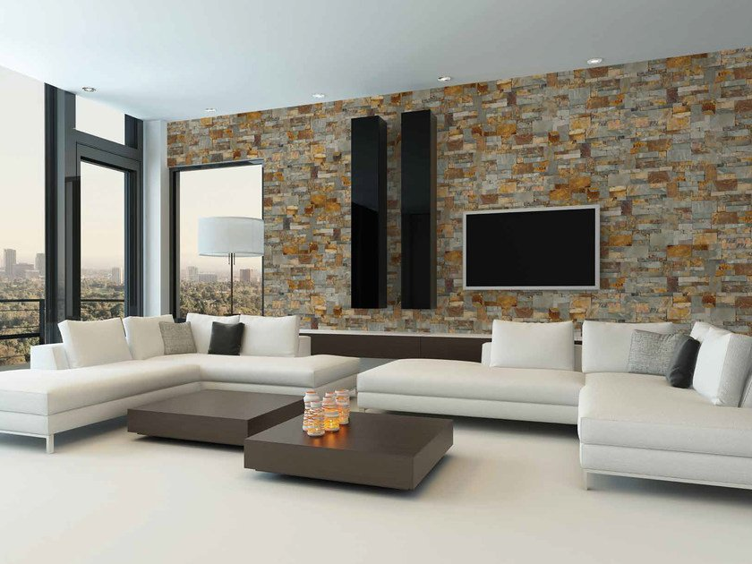 Natural stone wall tiles TEXAS by RECORD - BAGATTINI